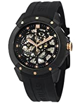 Stuhrling Original Leisure Analog Black Dial Men's Watch - 539.33561