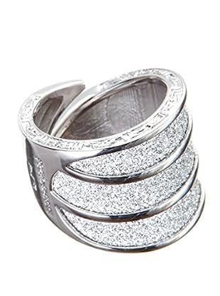 Rebecca Ring Half Moon metall