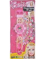 Cute Barbie Projector Watch (Pink)