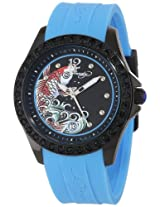 Ed Hardy Women's TE-BL Techno Blue Watch