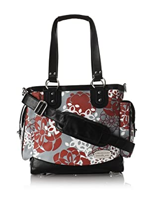 JJ Cole Norah Diaper Bag (Cherry Lotus)