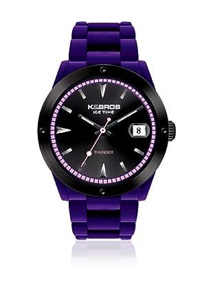 K&BROS Reloj 9556 (Violeta)