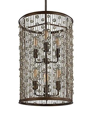 Feiss 6-Light Foyer, Chestnut Bronze