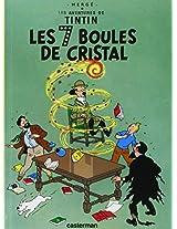 TINTIN PETIT FORMAT 13 LES SEPT BOULES DE CRISTAL (Aventures de Tintin)