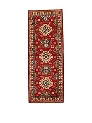 Design Community By Loomier Teppich Ozbeki Ghazni Fine rot/beige 79 x 248 cm