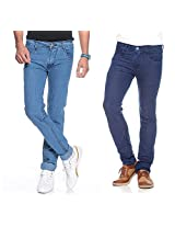 Coaster Combo of 2 Stretchable Men Jeans AG RMD 2 6