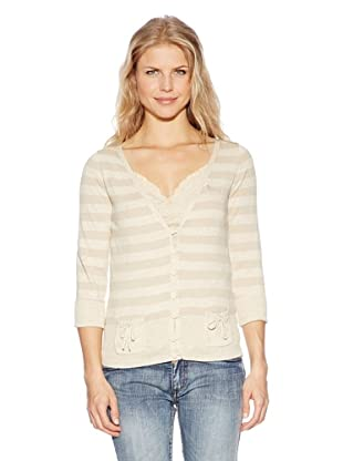 Time Out Chaqueta Punto (Beige)