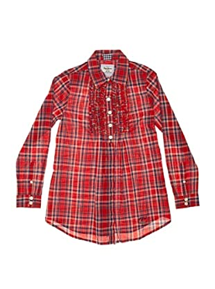 Pepe Jeans London Camisa Becka (Rojo / Azul)