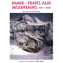 Pamir-Trans Altai Mountains Map and Guide: Central Asia/Tajikistan