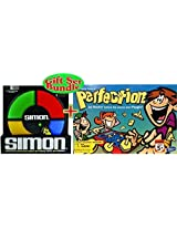 Simon Electronic Game And The Original Game Of Perfection Gift Bundle Set