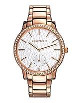 ESPRIT Analog White Dial Women's Watch - ES108112005
