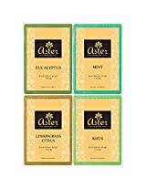 Aster Luxury Herbal Ayurveda Premium Handmade Bathing Bar - Set of 4 (125g each)