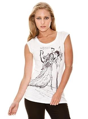 Springfield Camiseta Novia Cadáver (blanco)