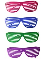 12 Pairs of 80s Sunglasses - Party Favors (2)