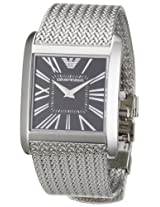 Emporio Armani Women's AR2013 Slim Stainless Steel Mesh Bracelet Watch