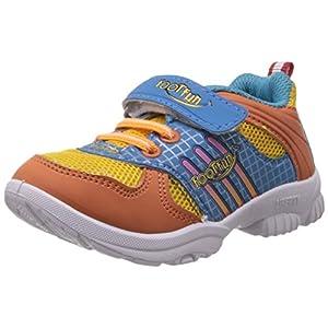 Foot Fun Unisex Orange Sneakers