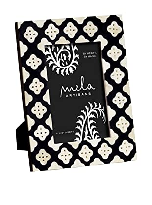 Mela Artisans Pavilion Photo Frame (Black/White)