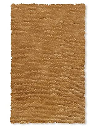 The Rug Market Dotted Motion Rug, Gold, 4' 7