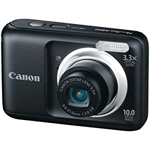 Canon PowerShot A800 10.0 MP Digital Still Camera with 3.3x Optical Zoom (Black)