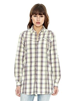 Z-BRAND Camisa Cuadros Choctaw (Limón)