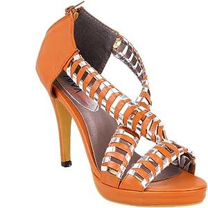 Aiva YF 3388 B26 Women's Sandals-Brown