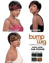 Sensationnel Bump Human Hair Wig Fab Fringe 1 B