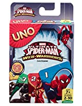 Mattel Uno Spiderman, Multi Color