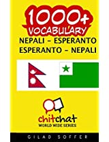 1000+ Nepali - Esperanto, Esperanto - Nepali Vocabulary
