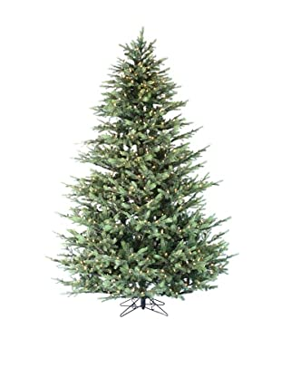 Santa's Own 9' Grayson Fir Pre-Lit Tree