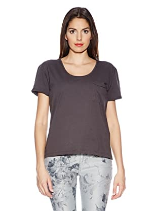 Selected Femme T-Shirt Daisy (anthrazit)