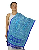 Extra Long Scarf Women - Indian Fashion Accessory for Girls Handmade 22x27 Inch