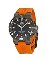 Oris Aquis Date Black Dial Orange Rubber Men's Watch (01 733 7653 4259-07 4 26 34 GEB)