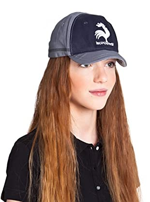Le Coq Gorra Old Rooster (Gris / Azul Marino)