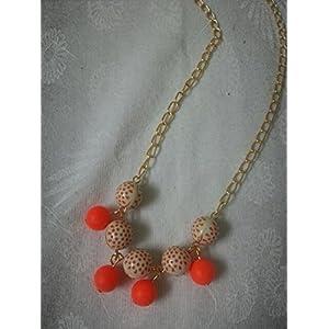 Knickknack Orange bead chain