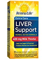 Renew Life Critical Liver Support, 90-Count