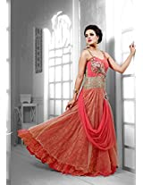 Designer Gorgeous Gown for Wedding or Party M89 1049