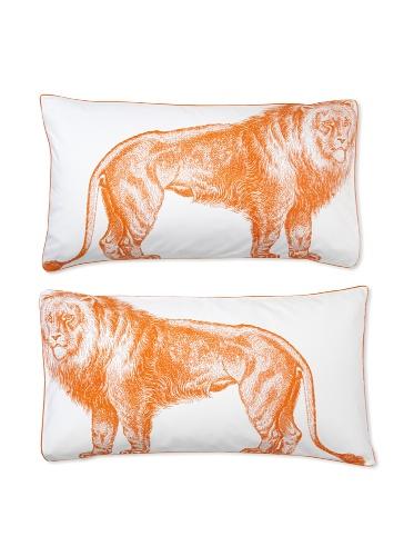 Thomas Paul Lion Pillow Shams (Alcazar)