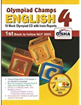Olympiad Champs English Class 4 (With 18 Mock Olympiad Tests CD)