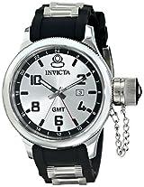 Invicta Men's 6612 Signature Collection GMT Black Rubber Watch