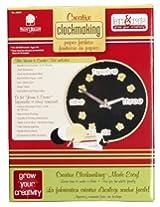 Walnut Hollow Creative Clockmaking Paper Fashion Kit