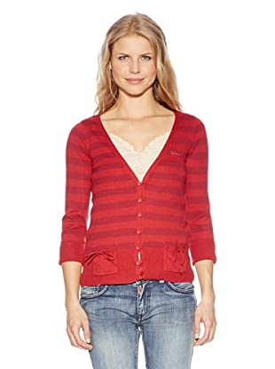 Time Out Cardigan (rose wood)