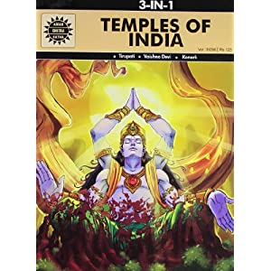 Temples of India: 3 in 1 (Amar Chitra Katha)