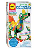 Alex Create a Marionette Dinosaur