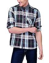 Yepme Men's Checks Multi-Coloured Poly Cotton Shirt- YPMSHRT0352_44
