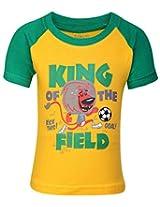 Babyhug Short Sleeves Printed T-shirt -