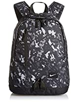 Nike Half Day 25 Ltrs Graphic Black Backpack