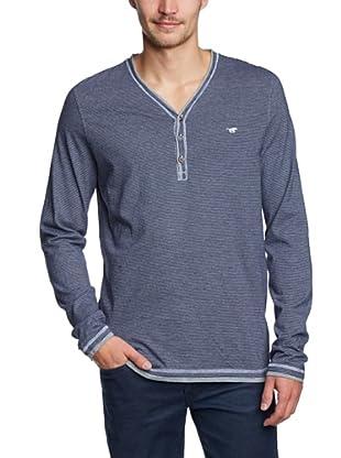 Mustang Camiseta Steven (Azul Medio)