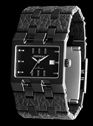 Pertegaz P19007X - Reloj de Señora piel Negro