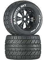 Duratrax Bandito MT 3.8 Mounted Tyre (Set of 2), Black