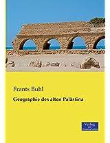 Geographie Des Alten Palastina